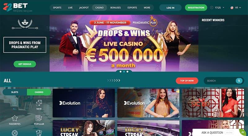 Huge Online Casino Library